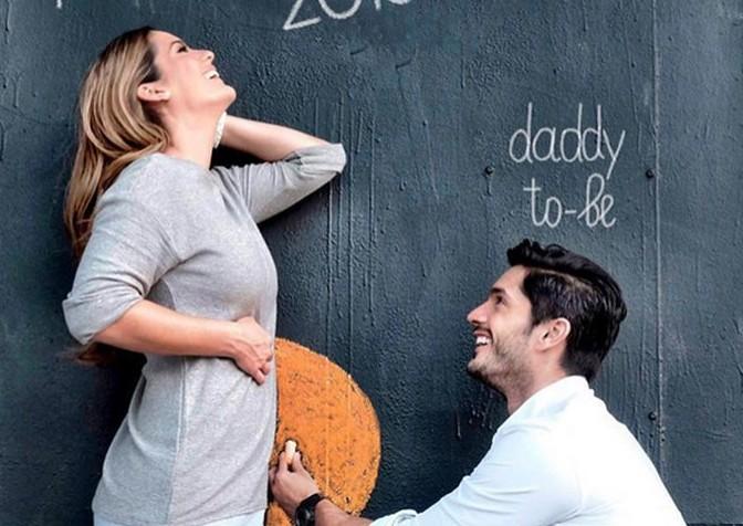 Nace el primogénito de Daniel Elbittar y Sabrina Seara
