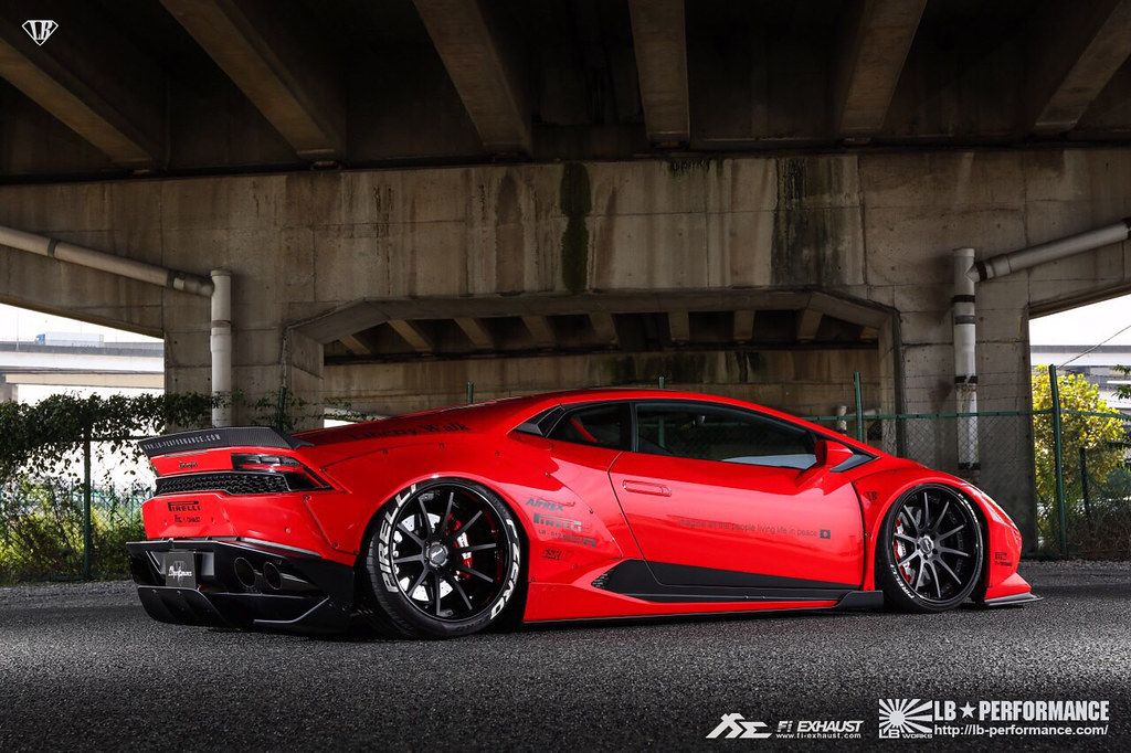 Liberty Walk Lamborghini Huracan Lp610 With Fi Exhaust Flickr
