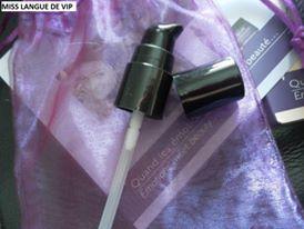 pompe Le sérum de peau hydratant - Pure rosée