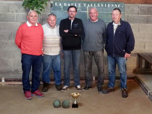 26/09/2015 - Taulé : concours de boules plombées en doublettes formées