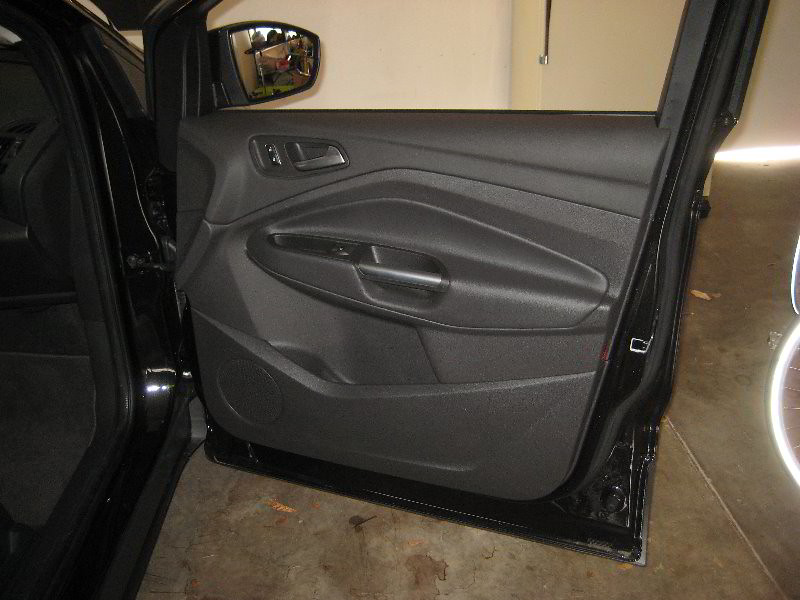 2013 2016 ford escape plastic interior door panel take o - 2013 ford explorer interior parts ...