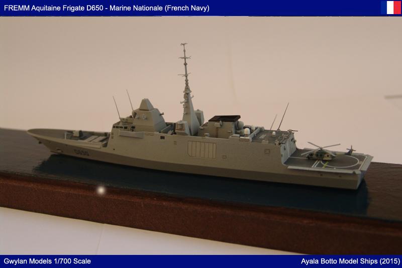 FREMM Aquitaine D650 Frégate ASM - Gwylan Models 1/700 par Ayala Botto 22391927693_0f4e6d7c30_o