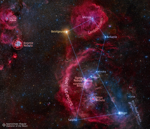 VCSE - Mai kép - Orion csillagkép