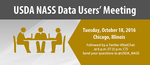 USDA NASS Data Users Meeting graphic