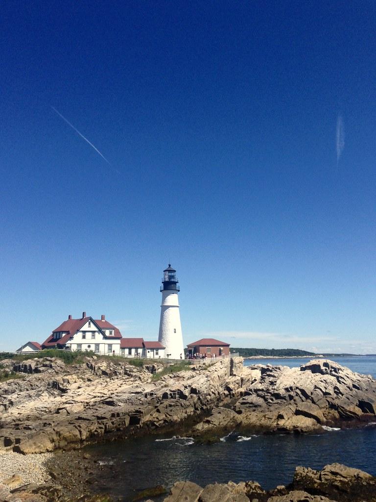Maine Coastal Drive - Portland, Rockland, and US route 1 ...