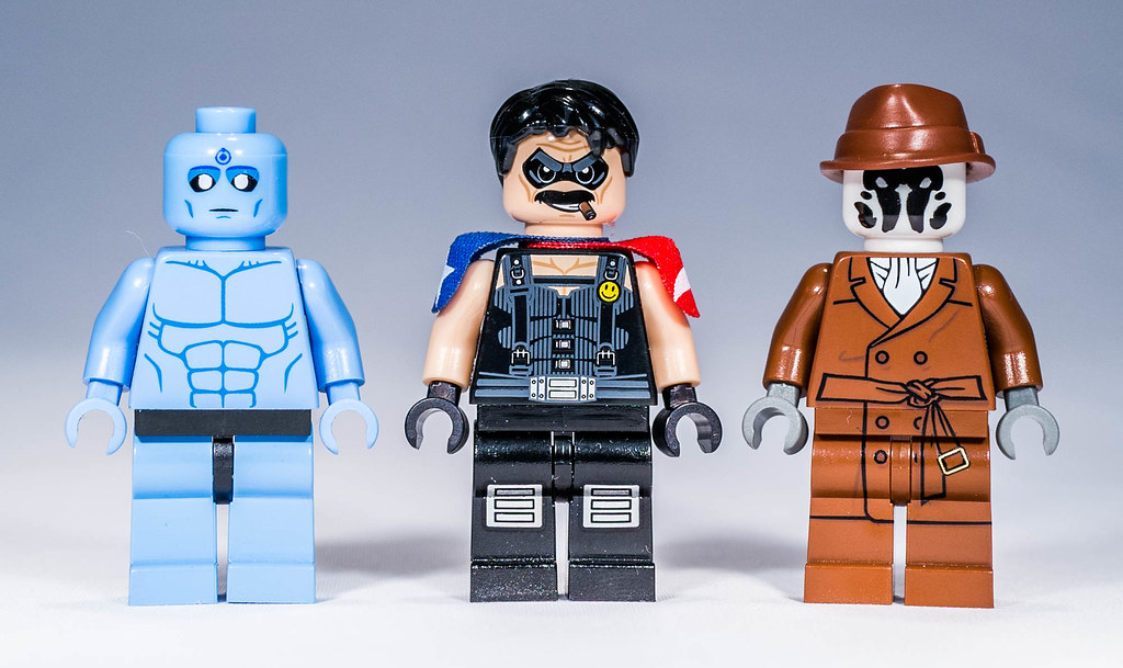 Lego Custom Watchmen By Christo Doc Manhattan The