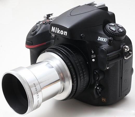 Leica Leitz Colorplan 90mm f/2.5 全銀舊版放映機鏡頭改Nikon 最近對焦0.25m 超值高質 Leica 鏡