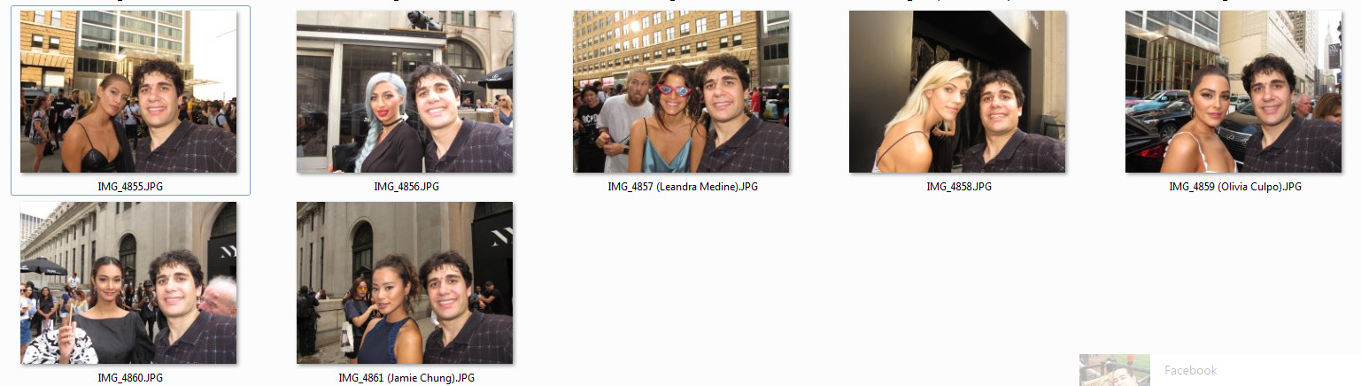 Celebrity Meet and Greets: Couple of NYC endeavors, pre NYCC