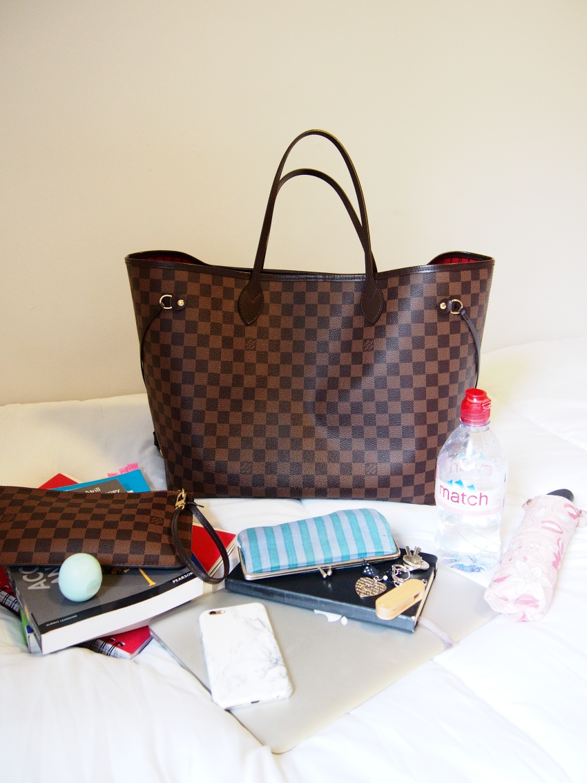 what fits in louis vuitton neverfull