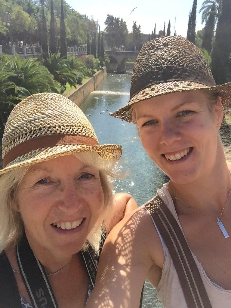 Mor och dotter i Palma