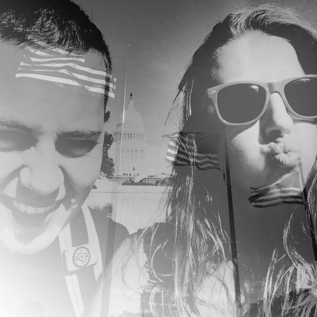 Double exposure | Washington D.C. | via it's Travel O'Clock