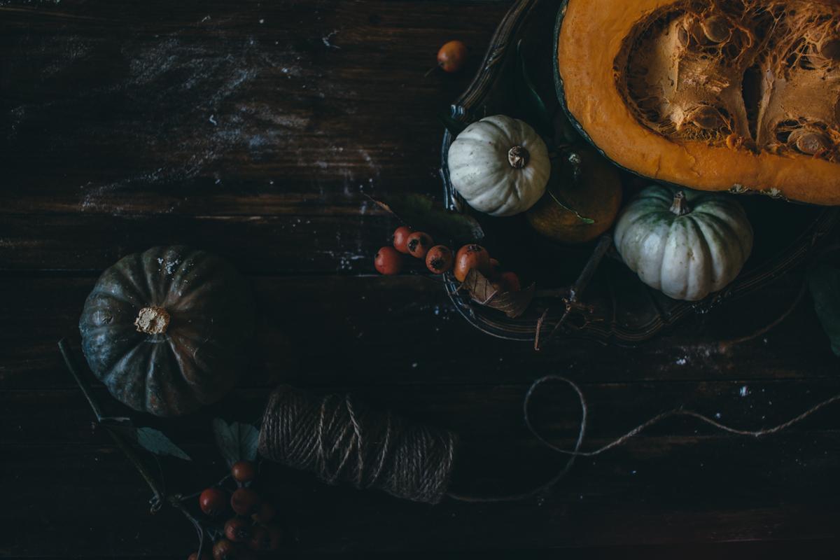 Saffron Pumpkin Pasta Bake for Virtual Pumpkin Party | Pasta al Forno con la Zucca | Lab Noon by Saghar Setareh-6