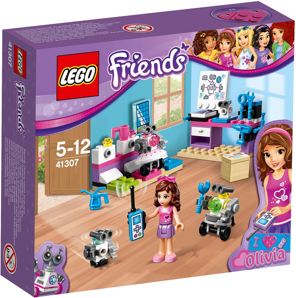 LEGO Friends 2017 - Olivia's Inventor Lab (41307)