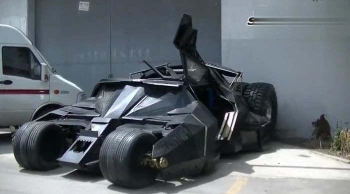 Scrap Metal Batmobile