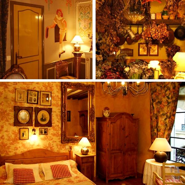 Las increíbles y super decoradas habitaciones del Hotel Nesle, de los mejores sitios donde dormir en París