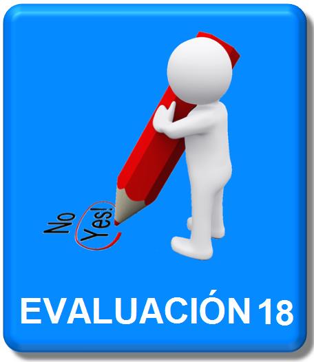 evaluacion 18