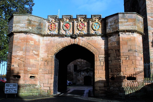 Entrance Arch at Linlithgow Palace, Scotland