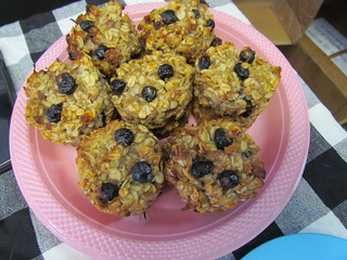 Blueberry Pecan Breakfast Cookies