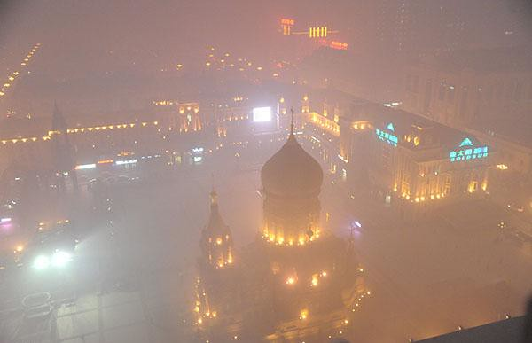 The Ministry of environmental protection: Northeast 11 tables of city air pollution index burst, Harbin, Daqing, suihua's worst