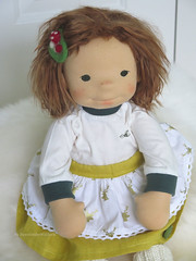 Agata - 18 inch Natural Fiber Art doll by Down Under Waldorfs