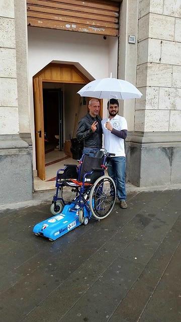 Salerno l 39 associazione antonio finamore dona trattorino for Trattorino disabili