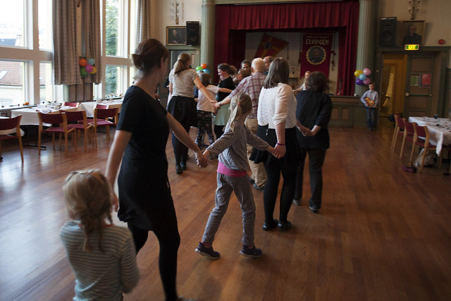 Familiefolkedans, 2015. Foto: Kjersti J. Nybø
