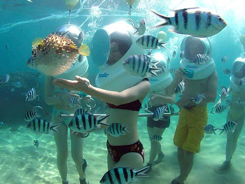 Underwater Walking Bali