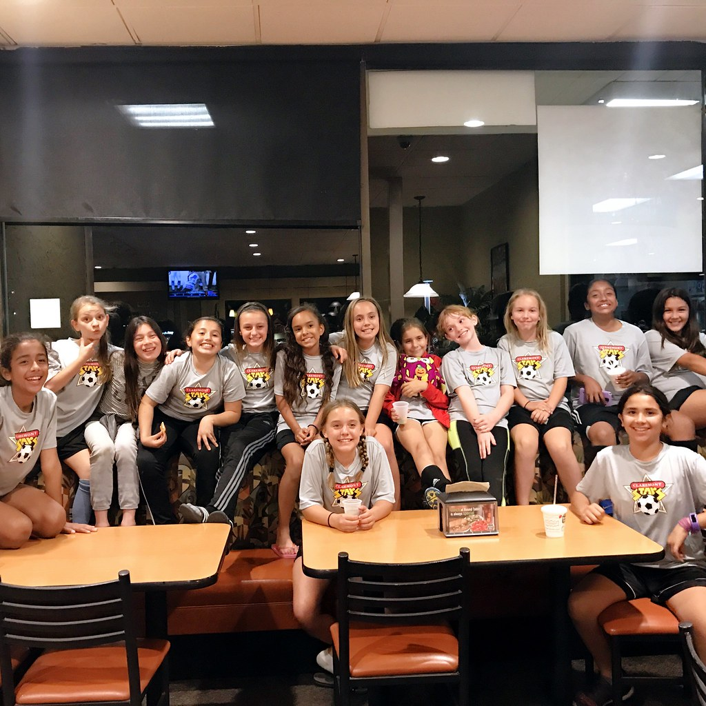Soccer Team Pizza Party