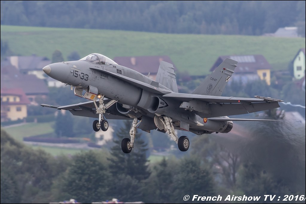 EF-18 Hornet , Spain , Ejercito del Aire ,airpower zeltweg 2016 , AIRPOWER16 - Österreichs Airshow , Steiermark , Austria, Canon Reflex , EOS System