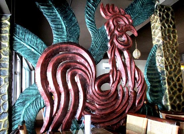 Ayam Penyet Ria, Sibu decor