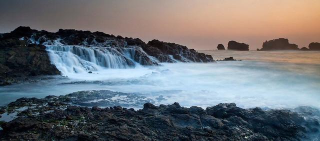 Siung Beach Sunset
