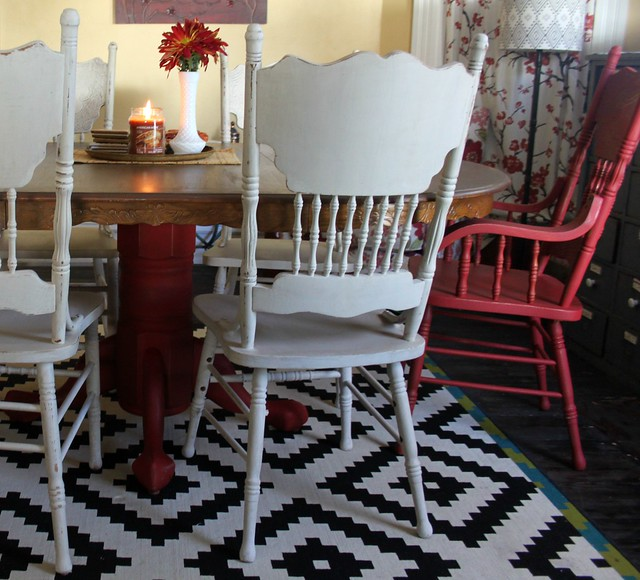 Dixie Belle Paint -- Dining Room Redo