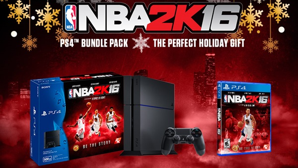 NBA 2K16 PS4™ Bundle Pack – The Perfect Holiday Gift