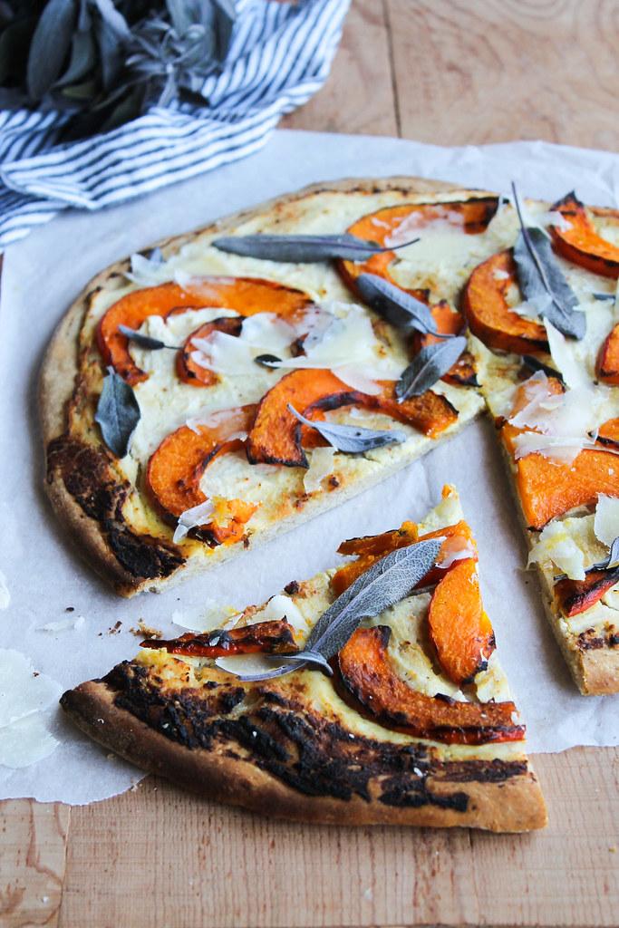 Pizza blanche ricotta