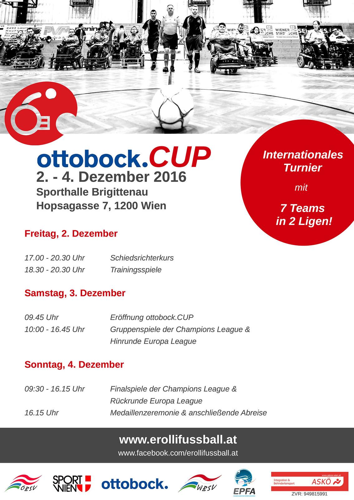 Plakat ottobockcup2016