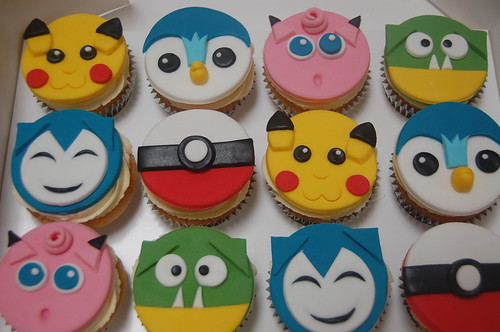 We just know these are going to be flying off the shelves! THe Pokemon Cupcakes - from £2 each (minimum order 12).
