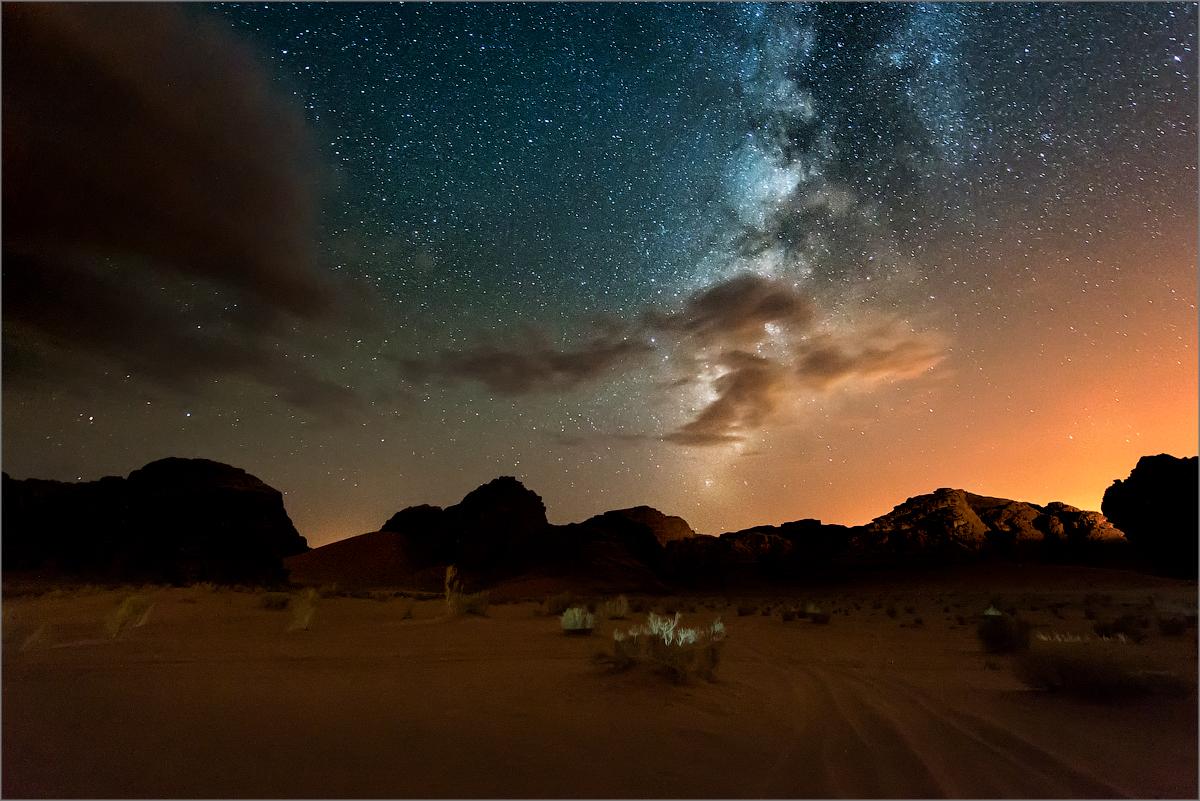 фото ночного неба в сахаре казарме местах