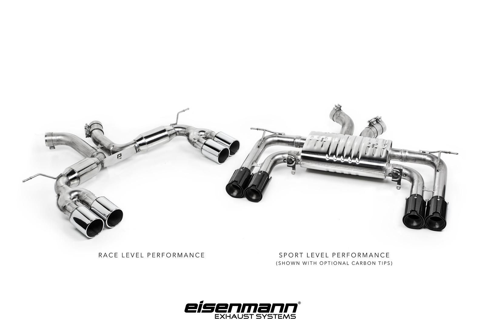 IND presents: Eisenmann's X5M exhaust!