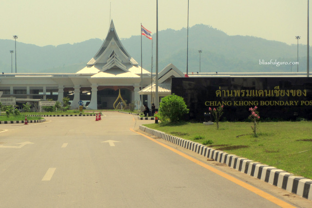 Thailand To Laos Border Crossing By Land