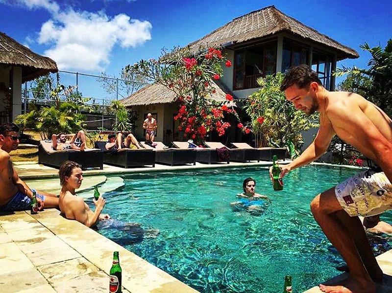 Padang Padang Surf School Pool