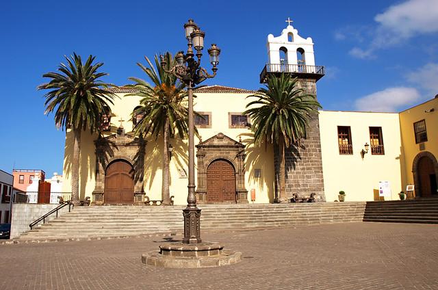 Iglesia de Nuestra Señora de Los Angelese, Garachico, Tenerife