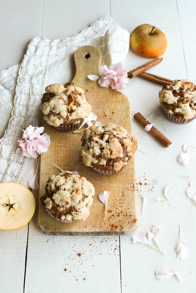 Muffins aux pommes recette