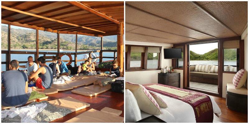 Komodo island boats options