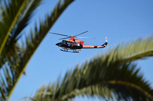 Rescue helicopter, Tenerife