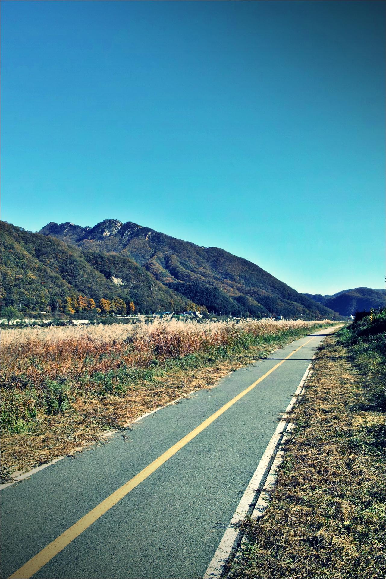 한적한 길-'미니벨로(오리바이크 서파즈 AR20) 타고 북한강 자전거 여행'