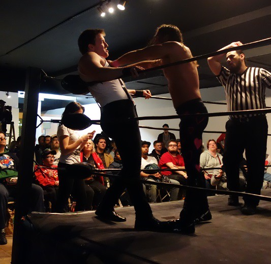 Nov 11th Need for Spped - The Lover versus Erik Donnelly at Hogtown Wrestling in Toronto