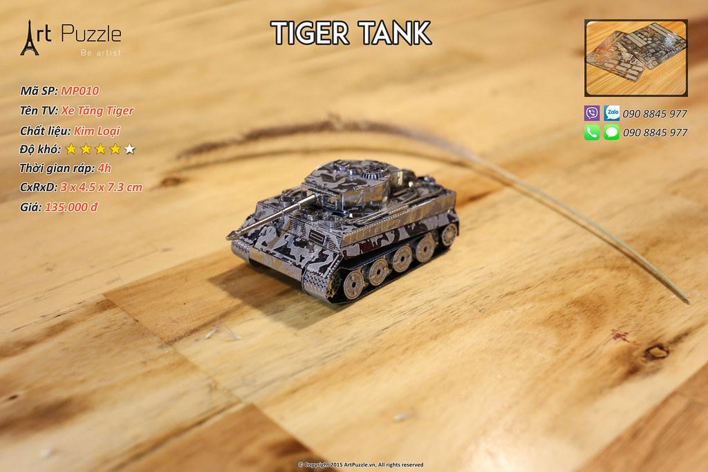 Art Puzzle - Chuyên mô hình kim loại (kiến trúc, tàu, xe tăng...) tinh tế và sắc sảo - 6