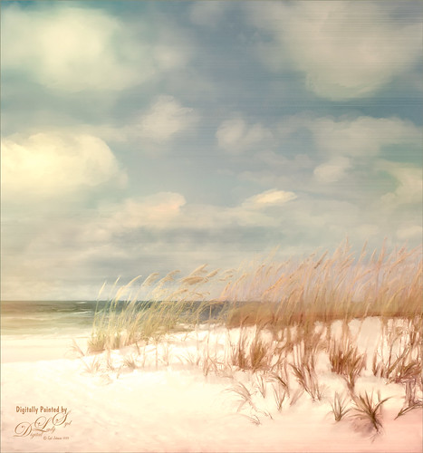 Painted Image of Pensacola Beach, Florida