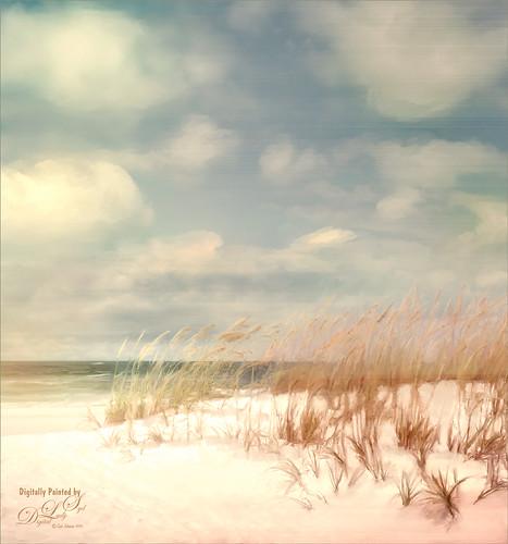 Painted Image of Pensacola Beach, Florida