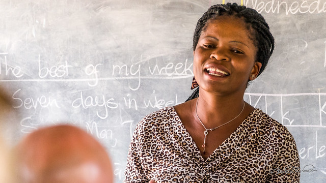 Teaching in Zimbabwe